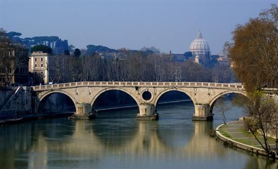 Ponte Sisto Trastevere...