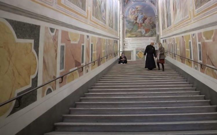 Visitar la Scala Santa
