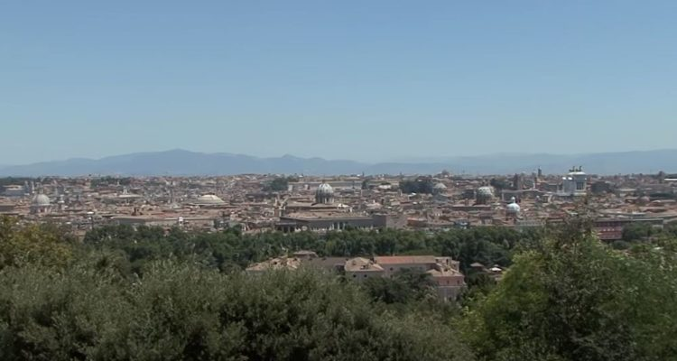 Vistas desde el mirador del Gianicolo