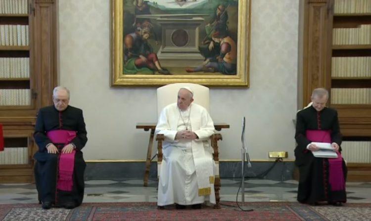 audiencia papal en el vaticano