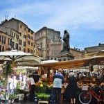 Campo de' Fiori mercado y diversión
