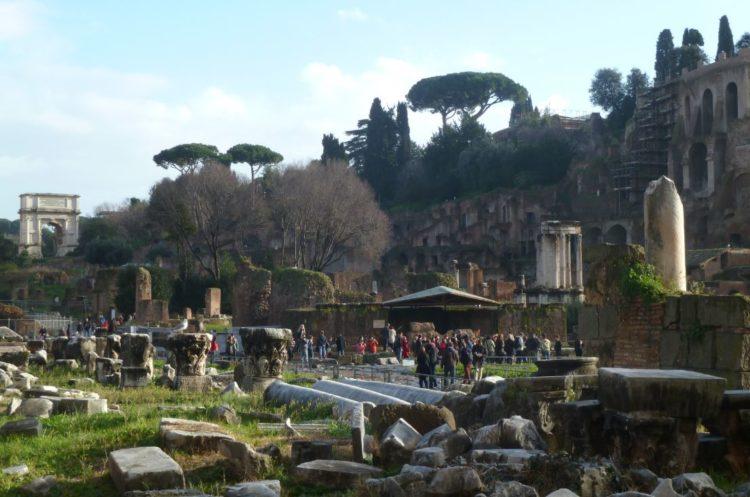 historia del foro romano