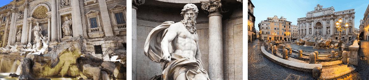 las mejores fotos de la fontana di trevi