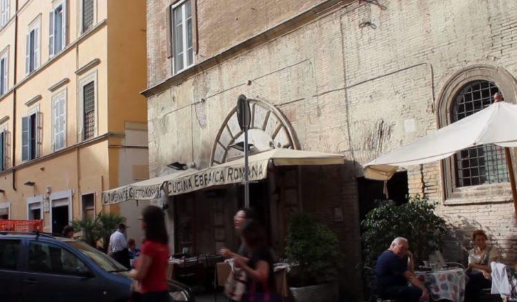 límites del gueto de roma