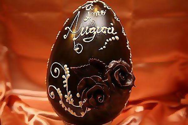 huevo de pascua semana santa en roma