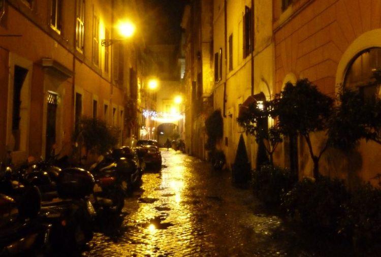 noche de fin de año en roma