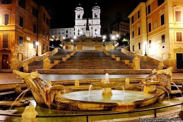 135 peldaños en Piazza di Spagna - Más Roma