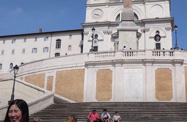 Plaza de España Roma en 3 días
