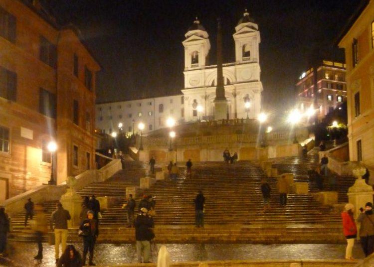 plaza de españa de roma