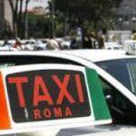 coger un taxi en Roma