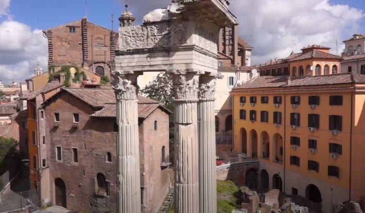 teatro de Marcello en roma
