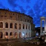 Cultura y belleza arquitectónica en el Teatro de Marcello