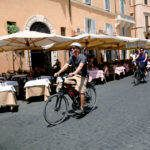 moverse en bici por roma
