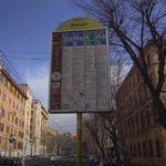 transporte público en roma