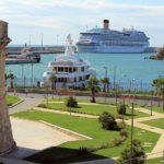 traslado desde el puerto a roma