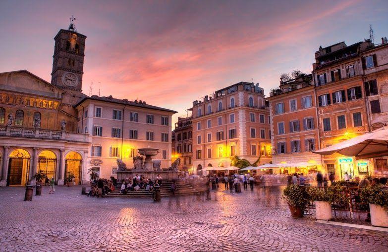 lugares románticos en roma