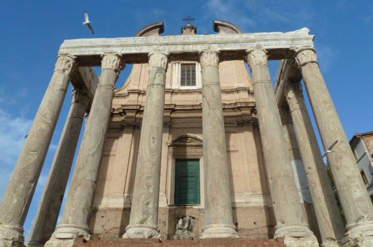 visitar roma y el barrio trastévere