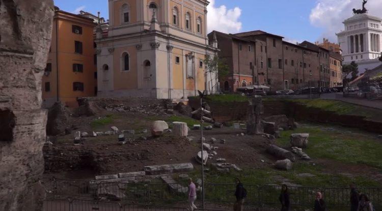 ruinas del teatro marcello