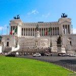 Una esplendida vista panorámica de Roma en las terrazas del Vittoriano